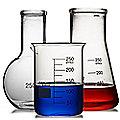 3 LAB Scientific Flasks