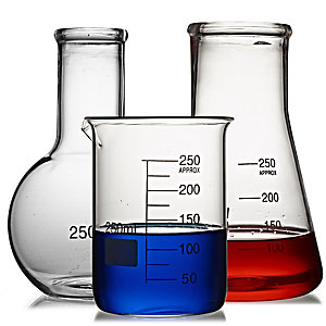 3 LAB Scientific Flasks