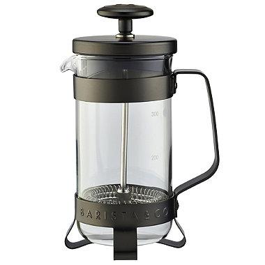Barista & Co Gunmetal 3 Cup Cafetiere