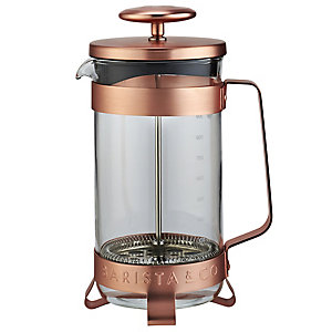 Barista & Co Copper 8 Cup Cafetiere
