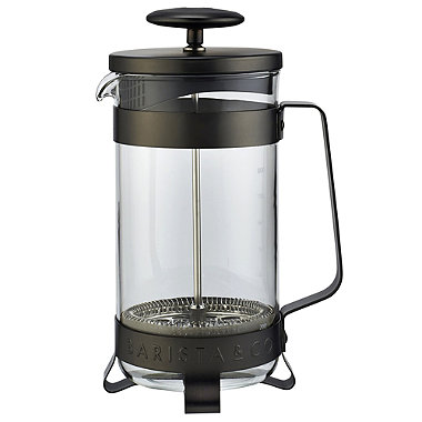 Barista & Co Gunmetal 8 Cup Cafetiere