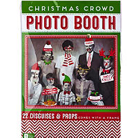 Christmas Crowd Photo Booth
