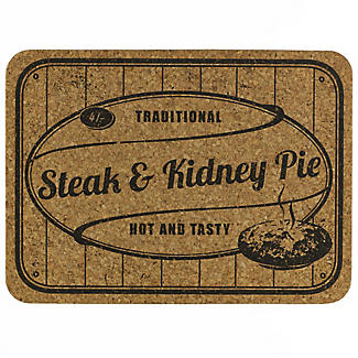 4 Comfort Food Cork Placemats alt image 1
