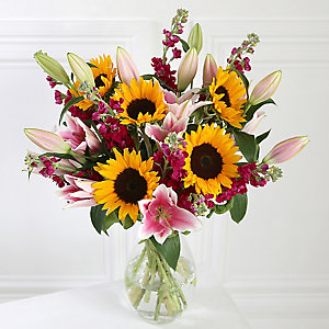 Sunflower Bouquet With Free Express Delivery