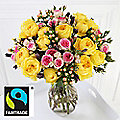 Fairtrade Summer Sunshine Bouquet With Free Express delivery