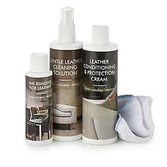 complete leather furniture care cleaning kit - Leather Furniture Care Kit