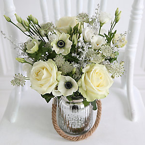 Frosted Moonlight Bouquet With Free Express Delivery