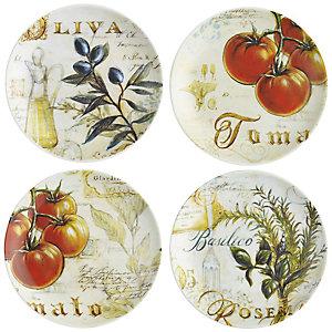 Toscana Harvest 4 Side Plates