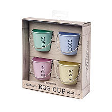 4 Egg Cup Buckets