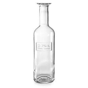 Italian Glass Wine Bottle