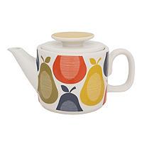 Orla Kiely Pear Print Teapot