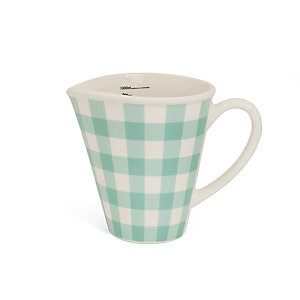 Nigella Green Gingham 1 Litre Measuring Jug