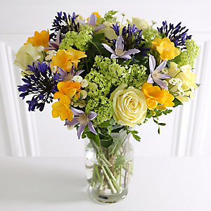 Agapanthus Spring Bouquet With Free Express Delivery