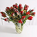 Paradise Parrot Tulip Bouquet With Free Express Delivery