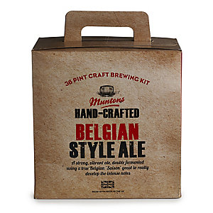 Muntons Belgian-Style Ale Homebrew Beer Making Kit (36pts)