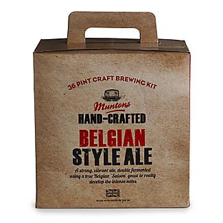 Muntons Belgian-Style Ale Homebrew Beer Making Kit (36pts)