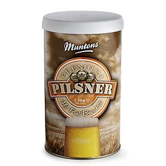 Muntons Premium Pilsner Lager Homebrew Beer Making Kit (40pts)