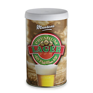 Muntons Premium Lager Homebrew Beer Making Kit (40pts)
