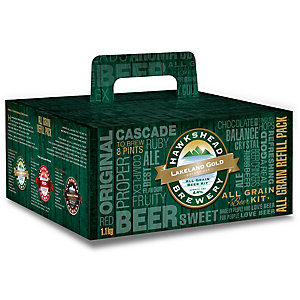 Hawkshead All Grain Lakeland Gold Beer Making Refill Kit