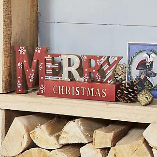 Light-Up Merry Christmas Decoration alt image 2