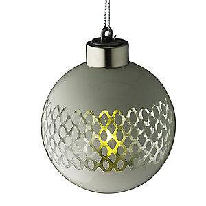 LED Lattice Bauble