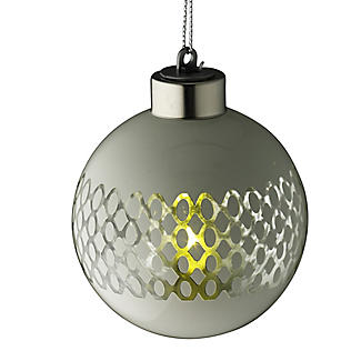 LED Lattice Bauble