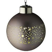 "LED-Weihnachtsbaumkugel ""Champagner"""