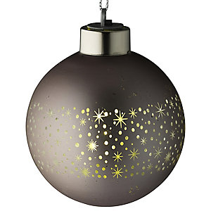 LED Champagne Bauble