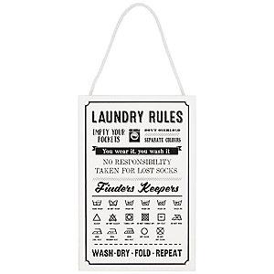 Waschvorschriften