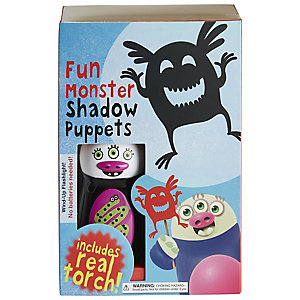Fun Monster Shadow Puppet Kit