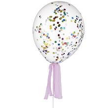20 Confetti Balloons