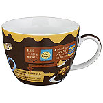 Erdnussbutter-Cupcake Tasse