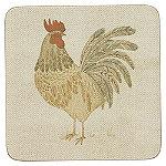 4 Artisan Hen Coasters