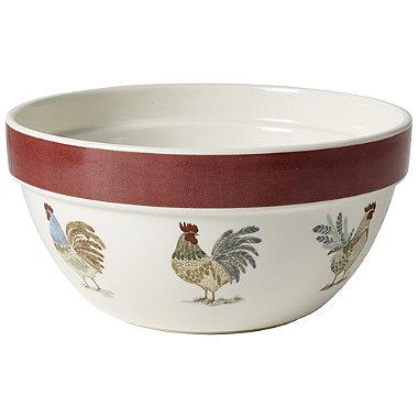 Artisan Hen Large Mixing Bowl