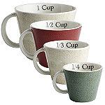 4 Artisan Hen Measuring Cups