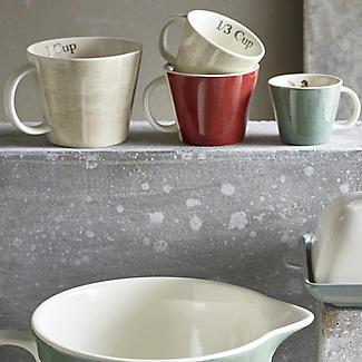 4 Artisan Hen Measuring Cups alt image 2
