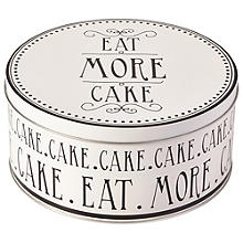 Love Food Cake Tin