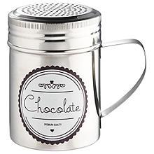 Kakaostreuer und Schablone von La Cafetière