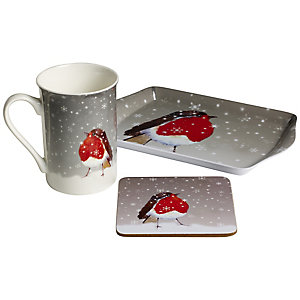 Robin Mug Gift Set