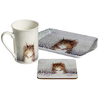 Squirrel Mug Gift Set