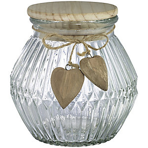With Love Storage Jar