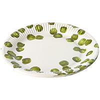 8 Sprout Paper Plates