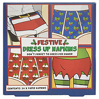 Festive Dress Up Napkins