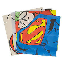 DC Comics Anzieh-Servietten