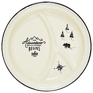 Gentlemen's Hardware Divided Plate
