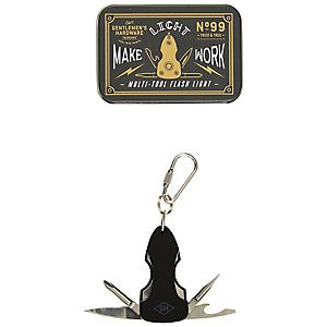 Gentlemen's Hardware Mehrzweckwerkzeug und Taschenlampe