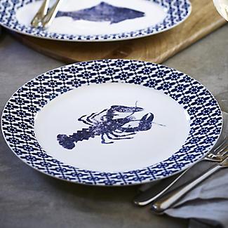 Artesa Round Rimmed Serving Plate alt image 2