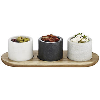 Artesa Marble Serving Dishes