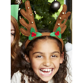 Jingle Reindeer Headband alt image 2