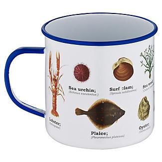 Sea Life Enamel Mug alt image 2